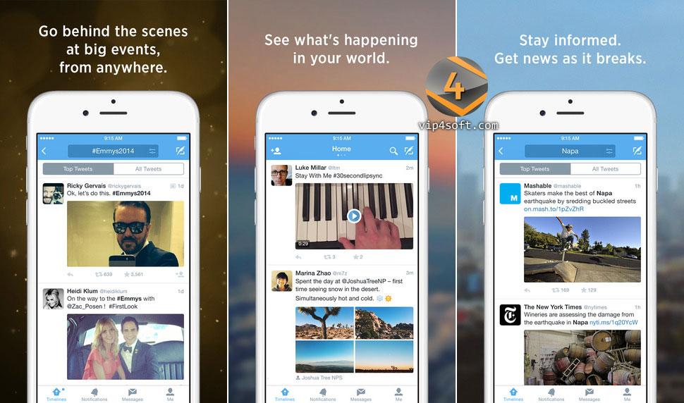 Twitter app for iPhone تطبيق تويتر للايفون