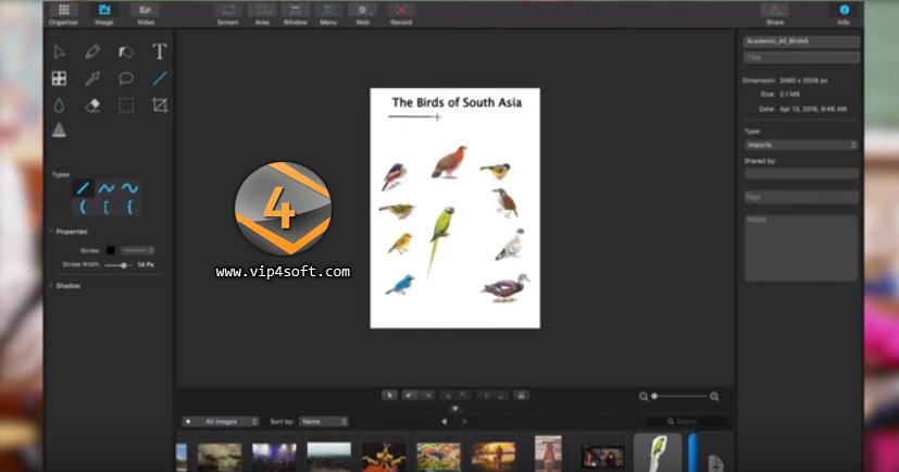 برنامج Capto لتسجيل الفيديو من الشاشة وتحريره على أجهزة ماك