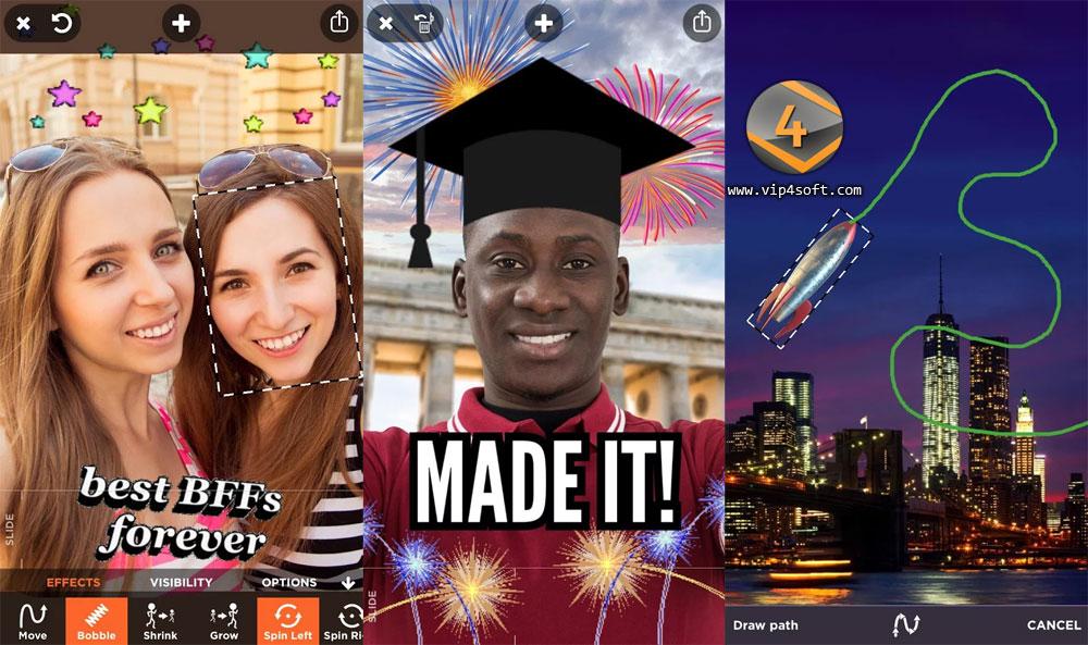 Yammo تطبيق أندرويد لإضافة مؤثرات ممتعة على صورك