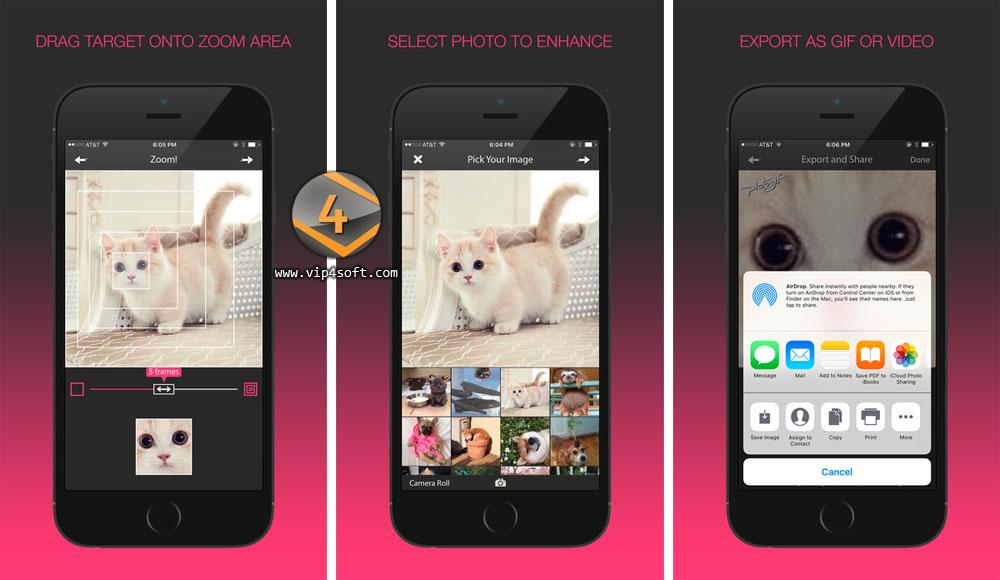 PictoGif: Gif Maker تطبيق ايفون لتحويل الصور إلى صور متحركة