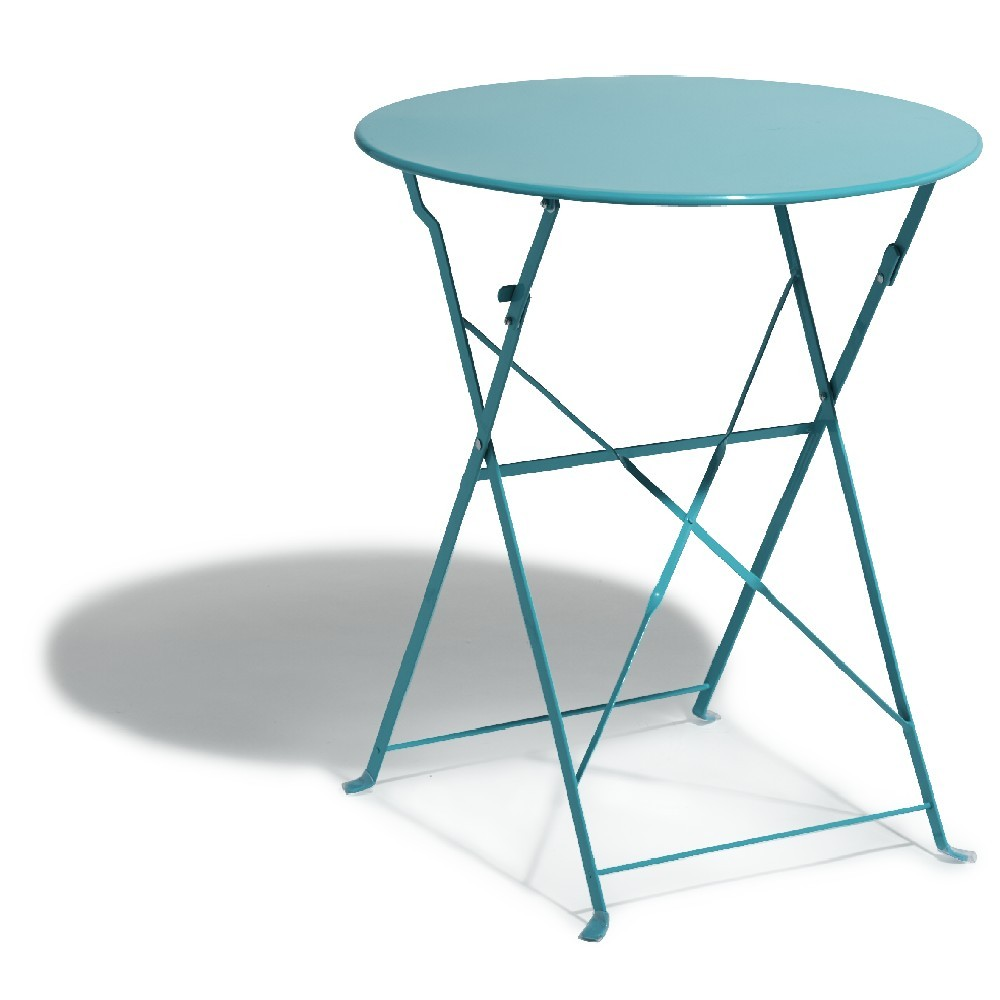 Table Exterieur Mosaique Tables Outsunny Table Ronde Pliable Style Fer Forgé Bistrot