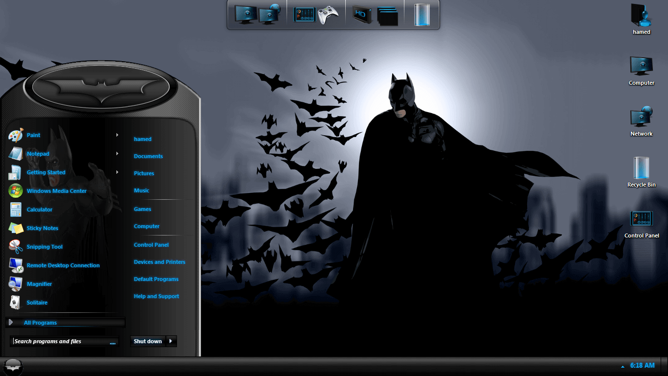 Free 3d Wallpapers For Windows Xp Batman Skin Pack Free Download For Windows 7 8 Softlay