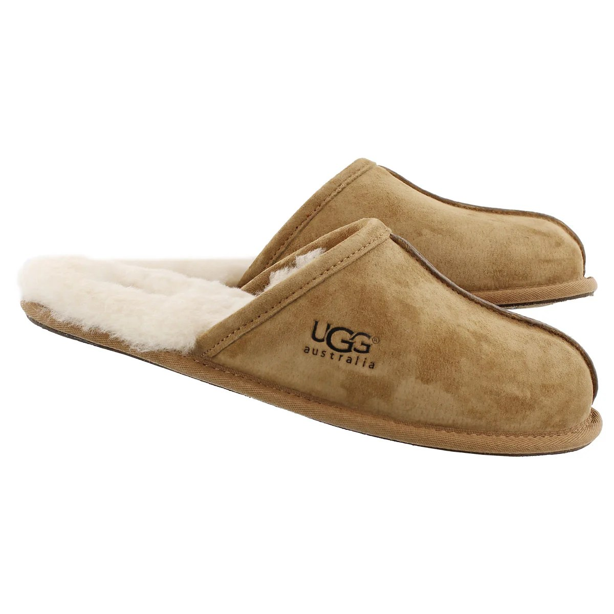 Slippers Australia Ugg Australia Men 39s Scuff Sheepskin Open Back Slipper Ebay