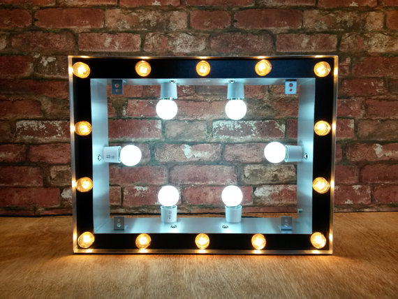 Led Dimmer Switch Marquee Cinema Light Box