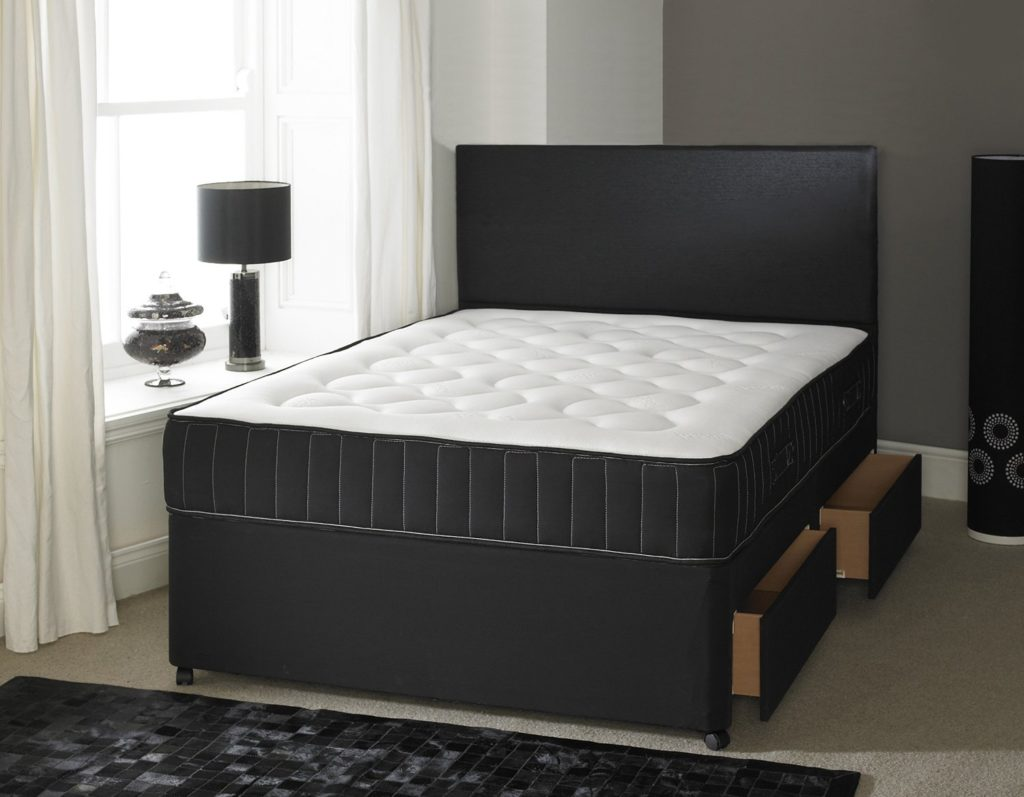 4ft Small Double Divan Bed Base With Opt Mattress Soft Touch Beds