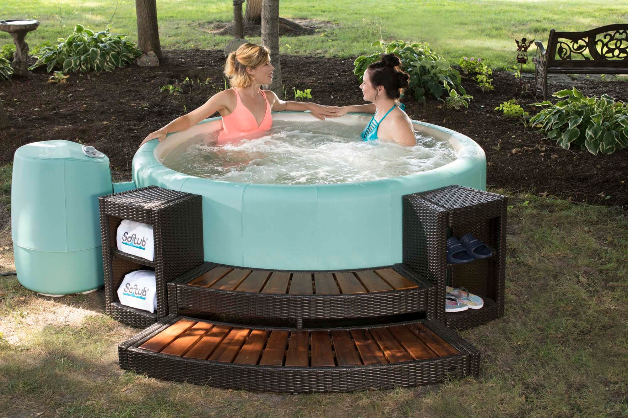 Outdoor Whirlpool Cheap Portable Hot Tubs Soft Sided Tubs Softub Express