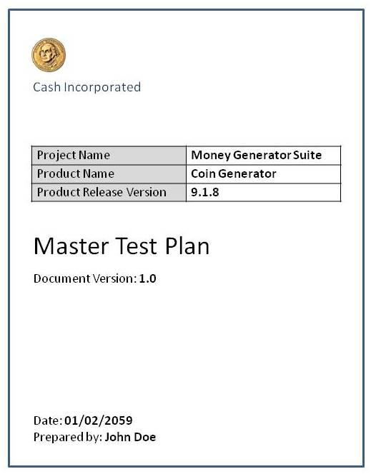 Test Plan - Software Testing Fundamentals