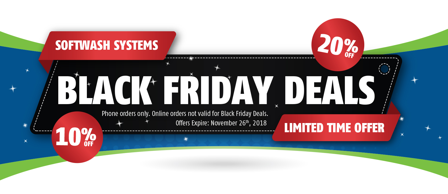 Black Friday Specials Black Friday Deals Softwash Systems