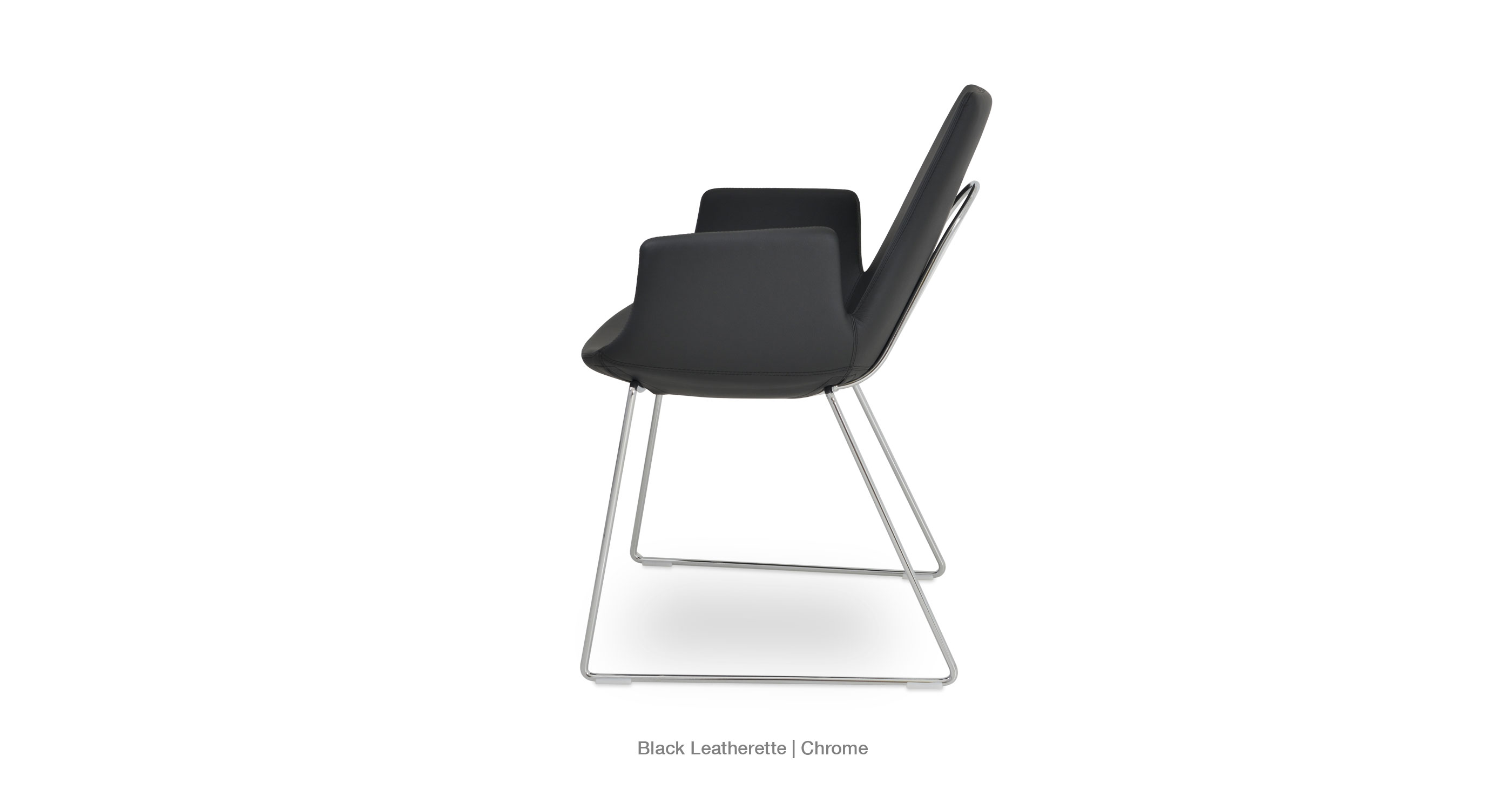 Dining Chairs With Handles On Back Eiffel Arm Handle Back Modern Dining Chairs Sohoconcept