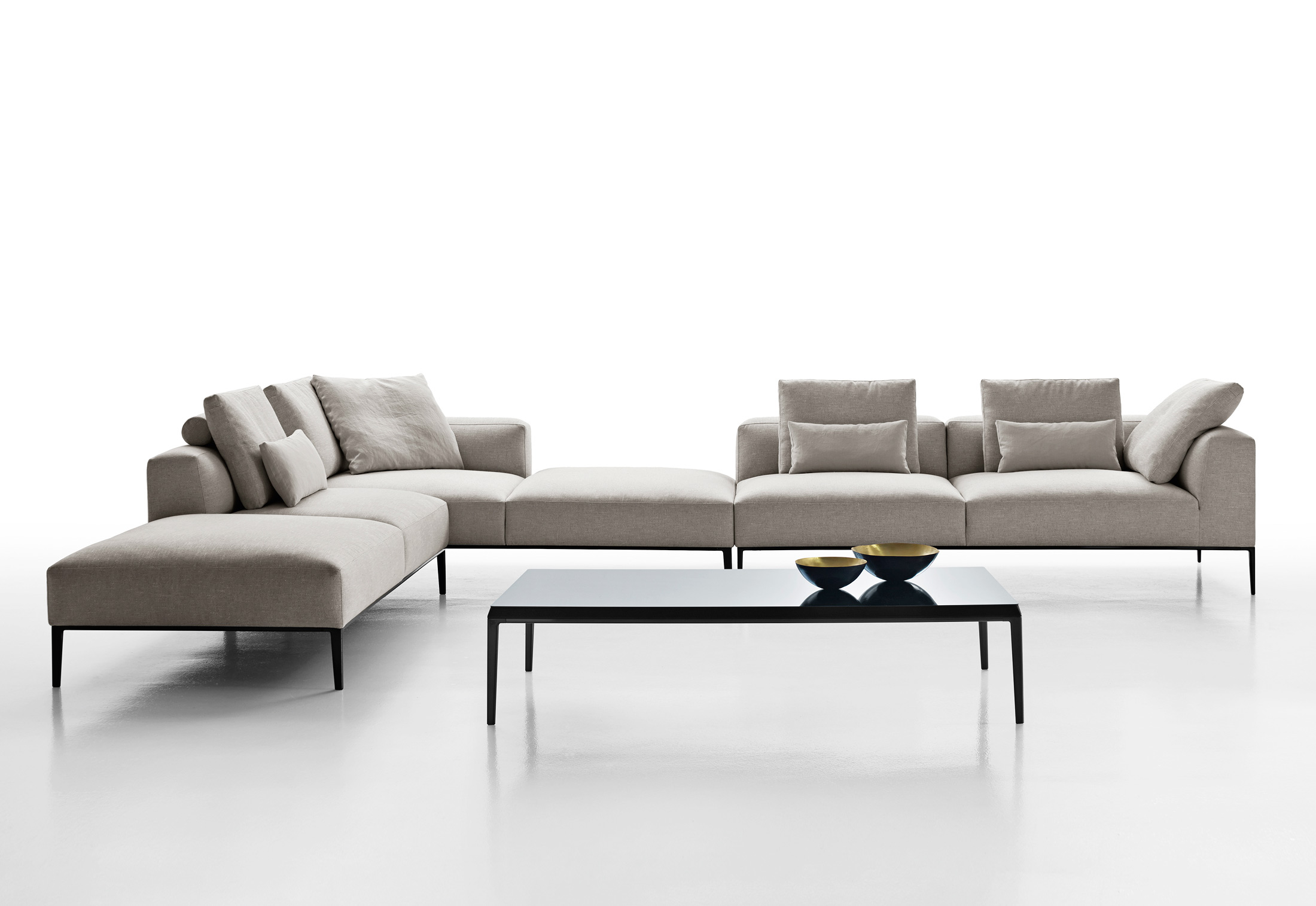 Antonio Citterio City Sofa Michel Effe Sofa System By Antonio Citterio For B B Italia