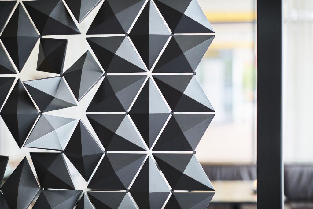 Freestanding Room Divider Facet by Bas van Leeuwen  Mireille Meijs