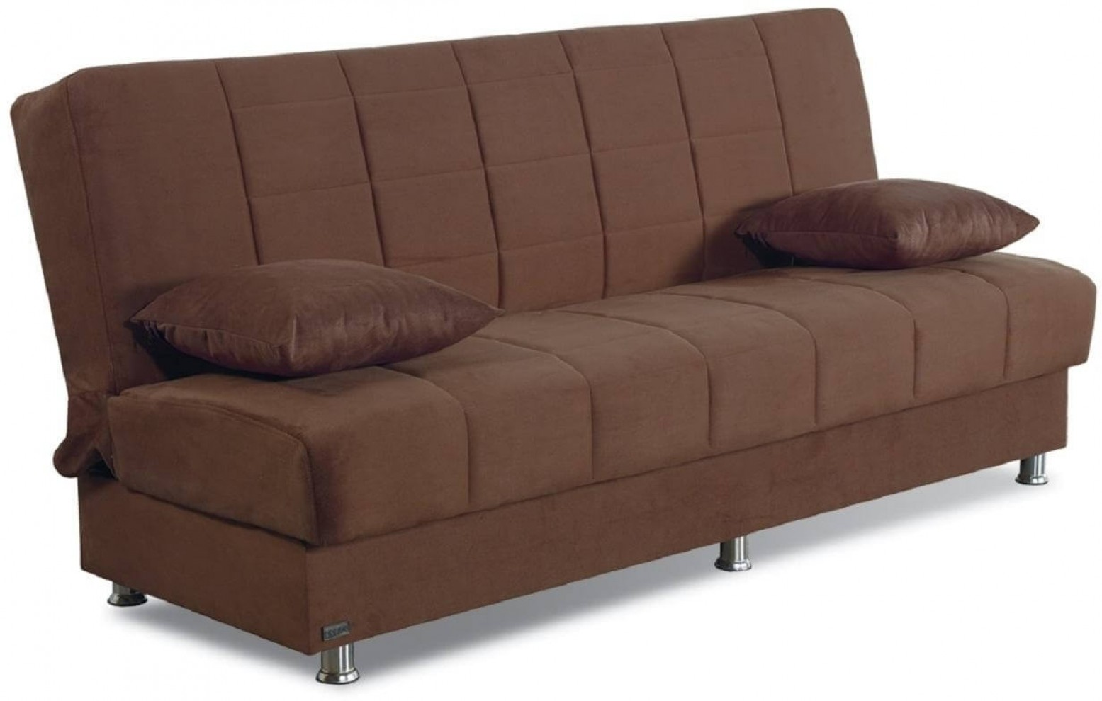 Hamilton Microfiber Storage Sofabed Brown By Empire Furniture Sohomod Com