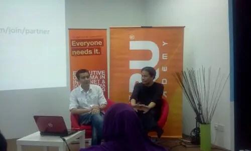 KRU Masterclass diterangkan oleh Irfan Khairi dan Norman KRU