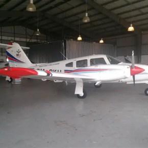 Salah sebuah pesawat yang digunakan dalam latihan