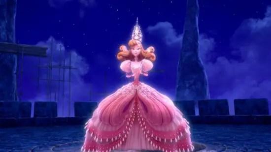 Glinda, wizard yang berkuasa tetapi telah ditipu oleh Jester
