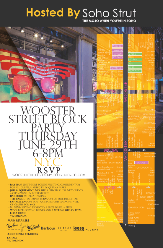 wooster street block party 1