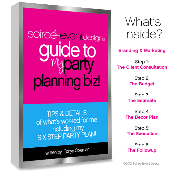 Books - Soiree Event Design - party planning
