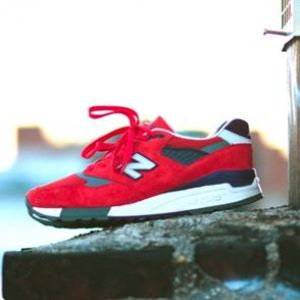 "First Look: J.Crew x New Balance 998 ""Inferno"""