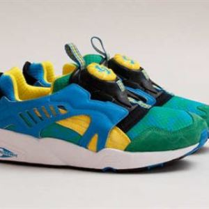 PUMA Disc Blaze – Tropical Green – Yellow – French Blue