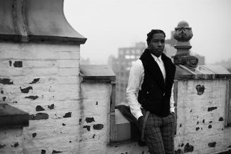 A$AP Rocky throws his opinion in the fashion circles.