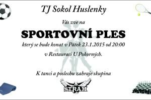 Pozvánka Sportovní ples