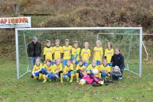 Fotbal - mladší žáci menší