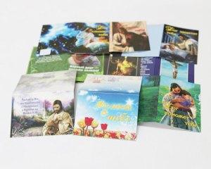 Мини открытки с библейскими обетованиями