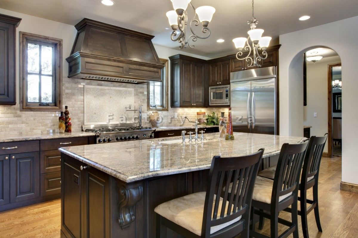 Granite Kitchen Countertops With White Cabinets Alluring Replacement Colonial White Granite Countertop