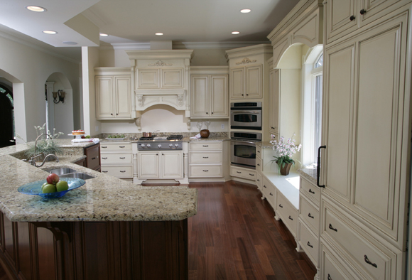 Coordinate Kitchen Cabinets With Espresso Alluring Replacement: Colonial White Granite Countertop