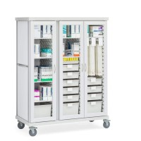 Medical Supply Storage Cabinets - Image Cabinets and ...