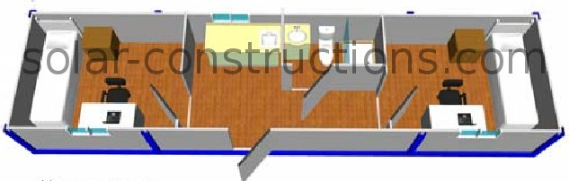 Design Container Huis Modulaire Woning, Modulaire Bouw, Container Woning
