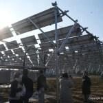 西高野ソーラーシェアリング発電所を見学(2)