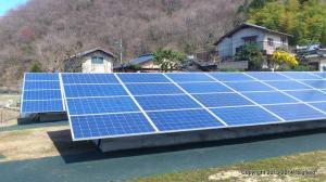 「風の谷」の太陽光発電所