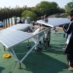 パネルの設置:太陽光発電・施工体験会(5)