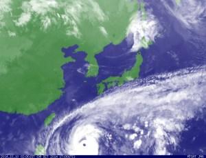 台風19号(VongFong)