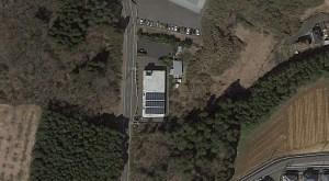 東関東の太陽光3基目の周辺にあるファッションホテルとその太陽光発電システム