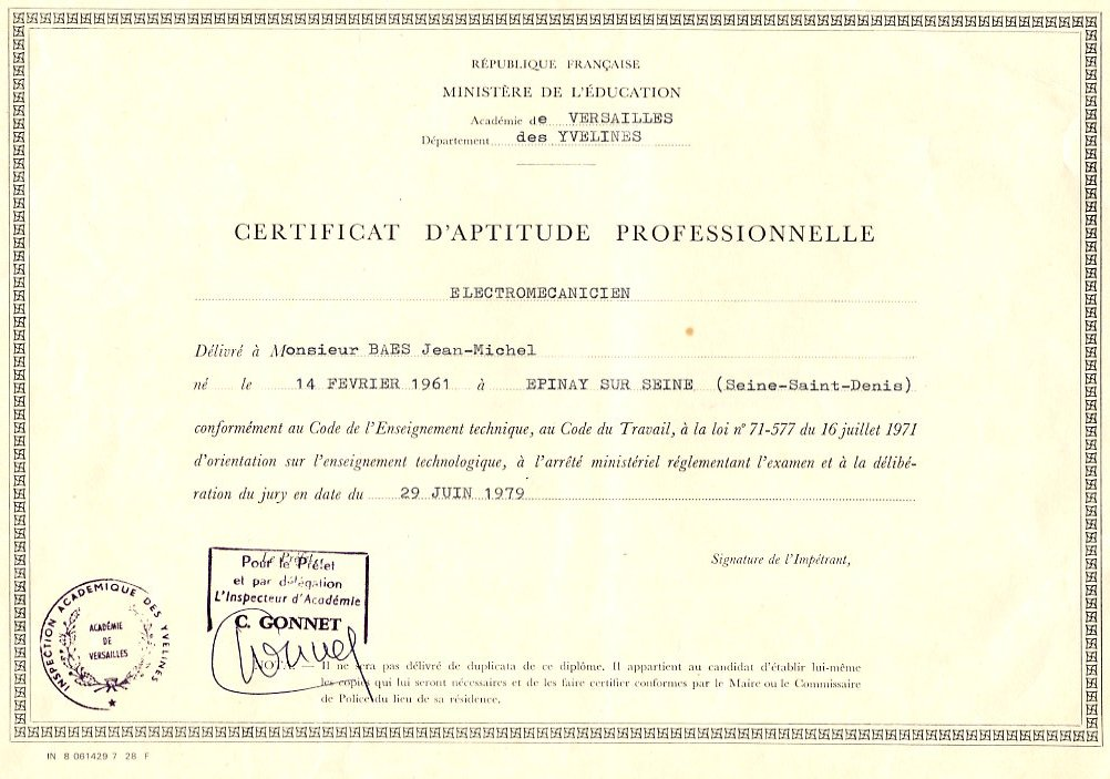cv automatismes free fr