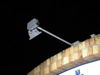 SIGN LIGHTING SYSTEM - (2) 10 WATT LED FLOODLIGHTS, (2) 85 ...