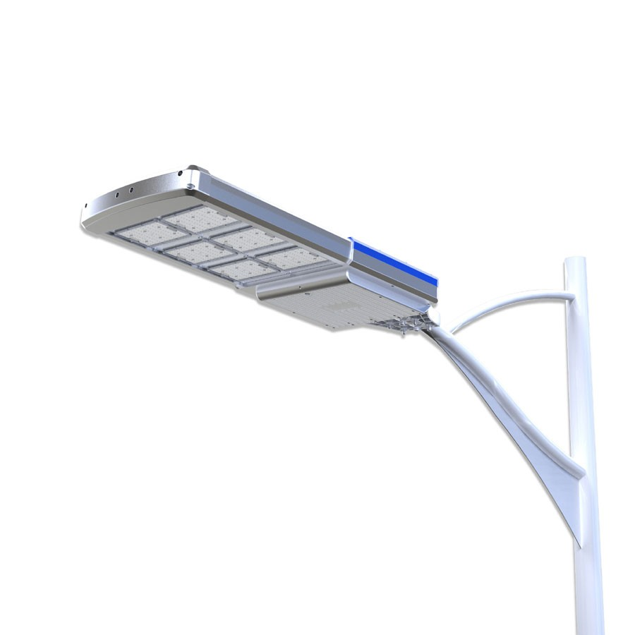 40 Watt In Lumen Solar Led Street Area Light 4000 Lumen Pole Mount 60 Watt