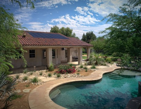 SRS Solar Roof Tiles in Palm Springs