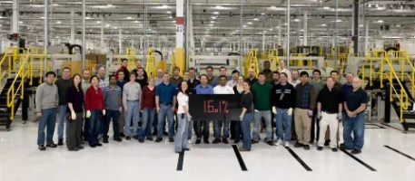 First Solar&#039;s R&amp;D team in Perrysburg, Ohio. 