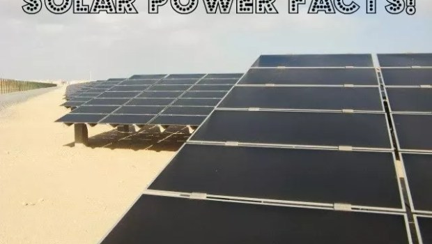 solar energy facts solar power facts