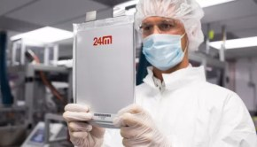 24M lithium ion battery has 5 times the energy storage of conventional batteries.