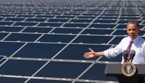 solar energy obama