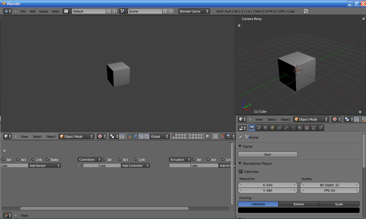 Blender Basic Game Up Game Development Blog Using Python In The Blender Game