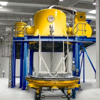 Vertical Bottom Loading Vacuum Furnaces - Solar Manufacturing