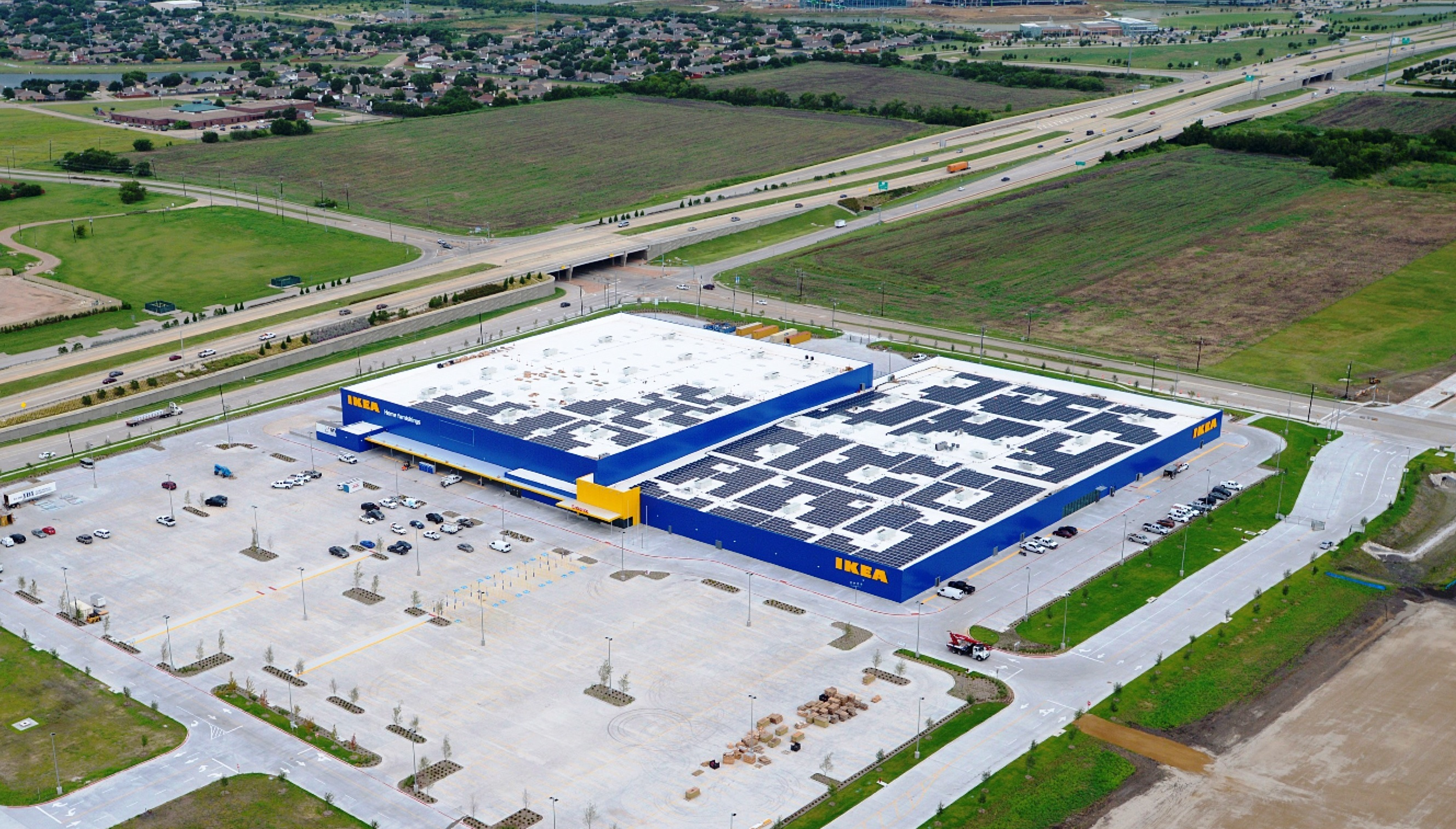 Ikea Frisco Ikea Finishes Fourth Solar Array In Texas At New Dallas Store