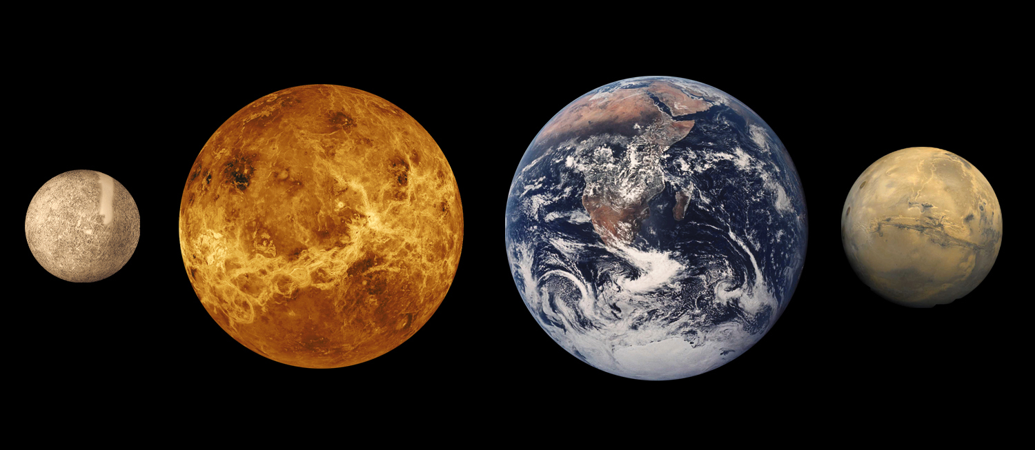 solar system earth and mars - photo #15