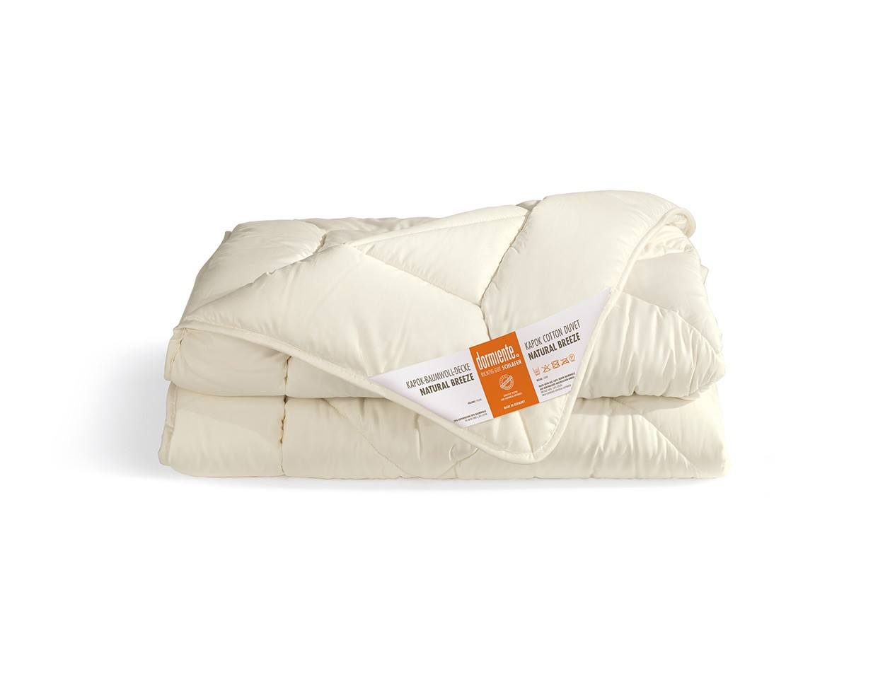 Daunendecke 100x135 Dormiente Winter Kinderdecke Natural Breeze Duodecke Deluxe 100x135