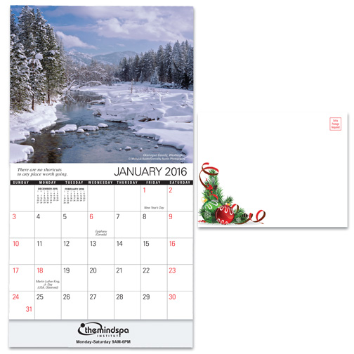 Easy to Personalize Wall Calendars from SoldByAngels